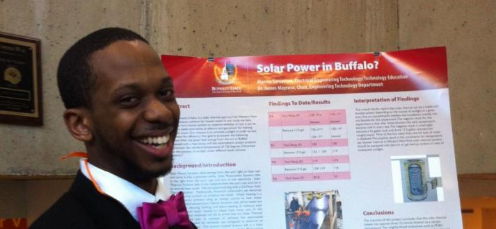 Marcus- Undergraduate Research & Creativity Day
